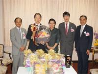 県産品の王室献上(タイ王室)