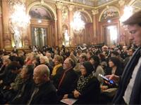 セミナーの様子(パリ市庁舎)